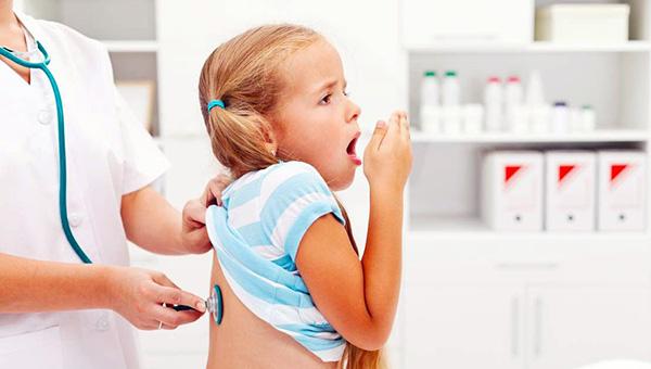 Çocuklarda bronşit tedavisi