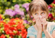 Çocuklarda polen alerjisi